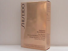 Shiseido Benefiance Pure Retinol Intensive Revitalizing Face Mask 4 Pairs