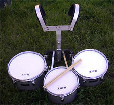 BRAND NEW  MARCHING TRI-TOM  DRUMS .WARRANTY.