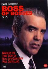 Boss of Bosses (2001) New Sealed DVD Chazz Palminteri