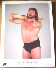 Vintage 1988 WWF Hacksaw Jim Duggan 8 1/2 x 10 1/2 Photo/Photos'