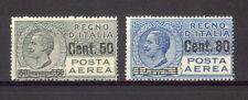 REGNO 1927 PA  2 VAL.SOPRASTAMPATI  GOMMA INTEGRA