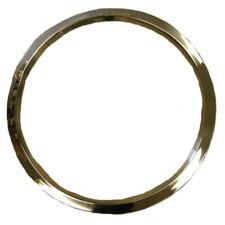 1971-75 Pontiac Honeycomb Wheel Trim Rings 14 x 7 Set of 4 Stainless Steel