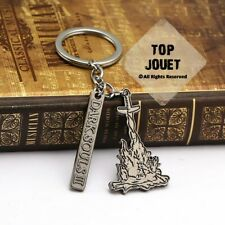 DARK SOULS III 3 KEYCHAIN LOGO COSPLAY COLLECTOR EDITION NEW GAME PS4 XBOX PC