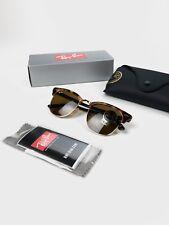 Ray-Ban Clubmaster or RB3016 Écailles de tortue lunettes de soleil 51 mm -  100% Authentique 8f62217287