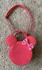 New ListingDisney Store Glitter Pink Minnie Mouse Shoulder Bag