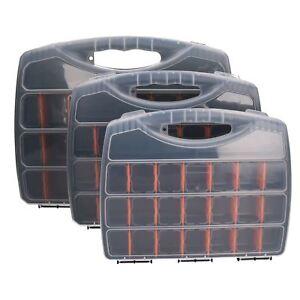 Plastic Compartment Tool Organiser Divider Small / Medium / Large Tool Box