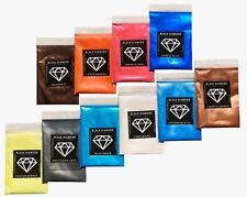 BLACK DIAMOND Mica Powdered Pigment -- Variety Pack #1