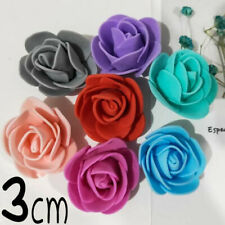 500pcs Artificial Flowers Mini Foam Roses 3cm Size Wedding Bouquet Party Decor