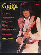 MAGAZINE Guitar Player 1975-12 Ron Wood The Rolling Stones