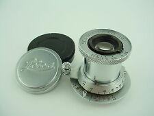 Leica 5cm f/3.5 Red Scale Elmar LTM Lens w/Rare 'Diamond' Infinity Mark #1048340