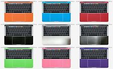 2-pack Palm Rest Cover Skin for Macbook Pro 13.3'' A1706 A1708 A1989 A2159