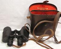 Vintage Occupied Japan Binoculars and Case Very Unusual ! 7 X 50 1940s