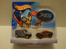 Hot Wheels XG X Games Hummer - Jeep Jeepster Set with Sticker C28-206