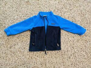 Columbia Fleece Jacket, Blue/Navy, Toddler Boy Size 2T
