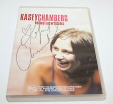 Kasey Chambers Behind The Barricades Signed Slip Case DVD 2002