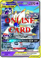 Solgaleo & Lunala GX RA Cosmic Eclipse Digital Card Pokemon TCG ONLINE PTCGO