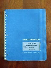 Tektronix Service Manual 7313/R7313 Oscilloscope 070-1363-00