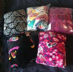 Vera Bradley Fleece Travel Blanket - NWT