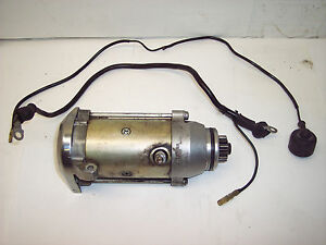 78 79 80 YAMAHA XS1100 XS 1100 S G ENGINE STARTING MOTOR CABLE ELECTRIC STARTER