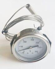 Fish & Chip Frying Range Thermometer 0 to 300 deg C - Preston & Thomas 60mm dia