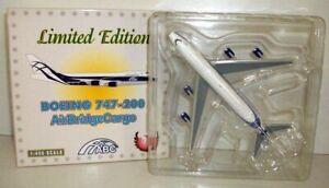 PHOENIX 1/400 - PH1 BOEING 747-200 - AIR BRIDGE CARGO 'REG VP-BIA'