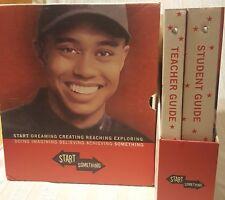 Tiger Woods Target Start Something Set/2 Binders Student Teacher Guides UNUSED