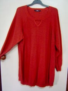 Quality Sue AS NEW!! GORGEOUS LONG & COSY SARA JUMPER Plus size 4X/26/28