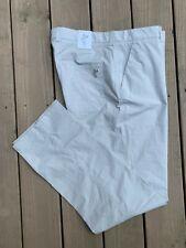 NWT ~ $95 Ashworth Gray Stretch Pinstripe Slub Pant ~ mens 36