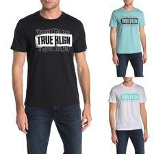 True Religion Men's True RLGN Triple Logo Graphic Tee T-Shirt
