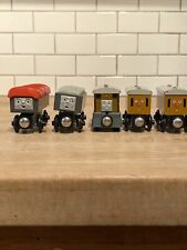 Lot Of 5 Wooden Thomas the Train ANNIE CLARABEL Troublesome Truck Giggling Toby