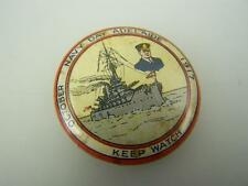"""1917 Pin back badge WW1 Navy Day Adelaide """"Keep watch""""          2337"""