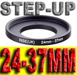 STEP UP 24-37MM ADATTATORE RING ADAPTER 24MM 37MM 24-37 24 37 MM 24MM-37MM