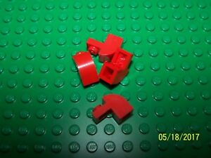 Lego 1x2x1-1/3 Brick with Curved Top Qty 4 (6091) - Pick your color
