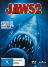 Jaws 2 - Action / Drama / Horror / Thriller - Roy Scheider - NEW DVD