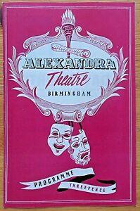 Running Wild programme Birmingham Alexandra Theatre 1956 Ursula O'Leary