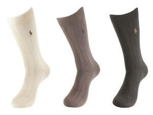 Polo Ralph Lauren 3-Pairs Super Soft Dress Socks
