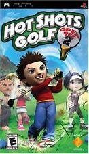 HOT SHOTS GOLF OPEN TEE 2 PSP GAME
