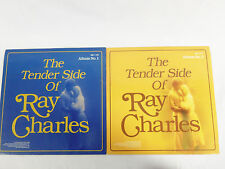 The Tender Side of Ray Charles Album 1 & 2 LP Records - R & B  1987