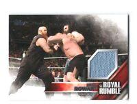 WWE Erick Rowan 2016 Topps Then Now Forever Royal Rumble Mat Relic Card 399/399