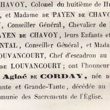 Aglaé De Postel Jules César De Corday Baudry Eure 1866