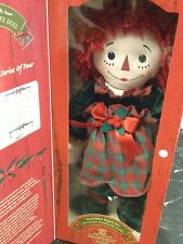 Raggedy Ann by Applause Holiday Keepsake Edition 2001 & 2002 Dolls MIB new