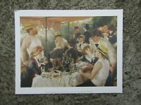 Vintage print - The Luncheon of the boating party - By Renoir - classic art