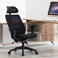 Ergonomic Computer Office Chair Heavy Duty Lumbar Support High Back Swivel