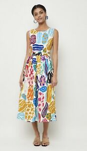 Gorman 'Big Rocks' Dress Size 14 (fits Like a 12)