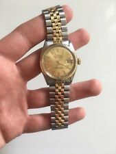 Rolex Oyster Perpetual Datejust 1601 Stahl-Gold 1972 mit orig. Box