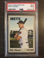2019 Topps Heritage Pete Alonso Rookie PSA 9 New York Mets RC
