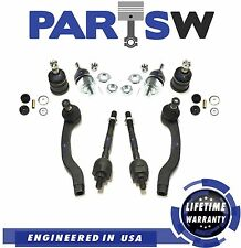 10 Pc Suspension Kit for Integra Civic & Civic del Sol Upper & Lower Ball Joints
