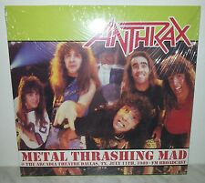 LP ANTHRAX - METAL THRASHING MAD - NUOVO - NEW