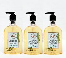 3 Bath & Body Works Honolulu Sun Nourishing Hand Soap With Manoi Oil