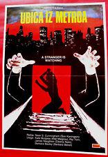 A Stranger Is Watchin 1982 Kate Mulgrew Torn Cunningham Horror Exyu Movie Poster